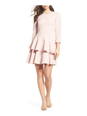 ELIZA J Tiered Ruffle Dress