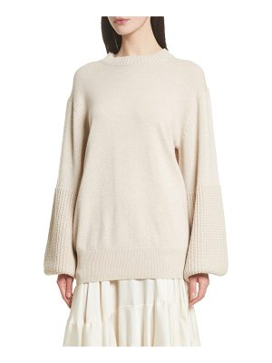 ELIZABETH AND JAMES Aida Wool & Cashmere Blend Sweater