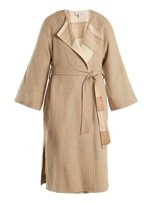 Elizabeth and James Alrick reversible wool-blend coat