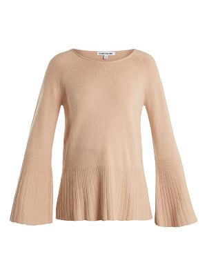 Elizabeth and James Clarette wide-sleeve knit sweater