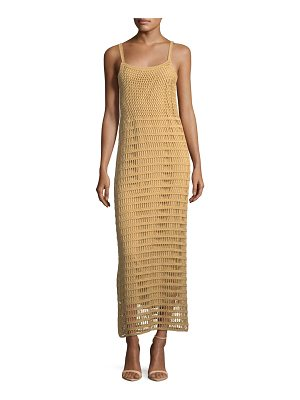 Elizabeth and James Edna Hand-Crochet Long Sleeveless Dress