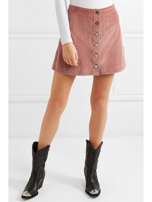 Elizabeth and James prewitt cotton-corduroy mini skirt