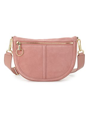 ELIZABETH AND JAMES Scott Small Moon Suede Saddle Bag