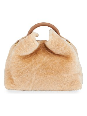 Elleme Baozi Shearling Bucket Bag