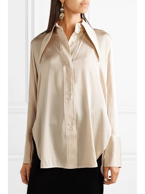 ELLERY bilbao stretch-silk satin shirt