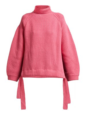 ELLERY wallerian oversized wool blend roll neck sweater