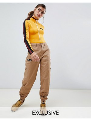 Ellesse combat pants with pockets and side logo