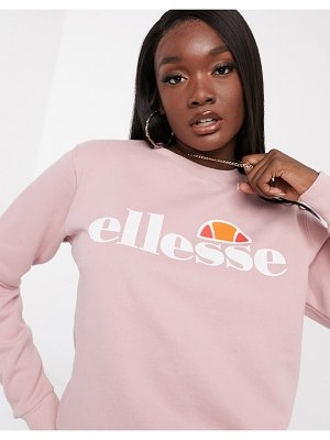 Ellesse oversized sweatshirt in pink