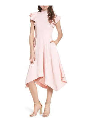 ELLIATT Arcadia Handkerchief Hem Dress