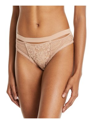 else Petunia Floral-Lace Sporty Bikini Briefs