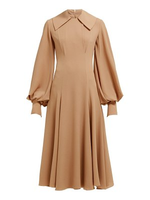 Emilia Wickstead gaynor panelled midi dress