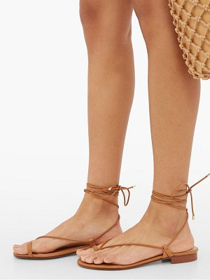 EMME PARSONS ava wrap around leather sandals