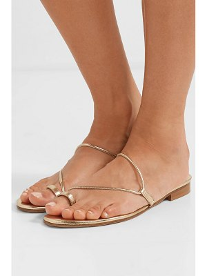 EMME PARSONS susan metallic leather sandals