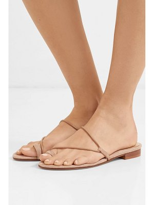 EMME PARSONS susan suede and leather sandals