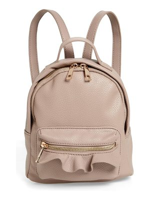 Emperia tracie mini faux leather backpack