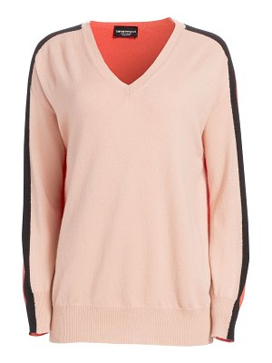 Emporio Armani cashmere dual color sweater