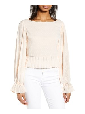 Endless Rose bateau neck crop top