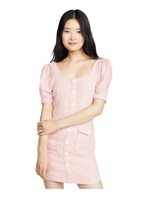 Endless Rose button down mini dress