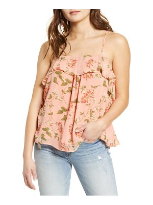 Endless Rose coral pink vine camisole