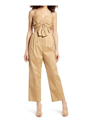 Endless Rose ruched bodice jumpsuit