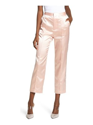 Endless Rose satin pintuck pants