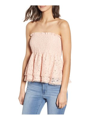 Endless Rose strapless lace top