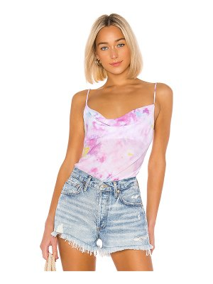 Endless Summer maya cowl neck cami