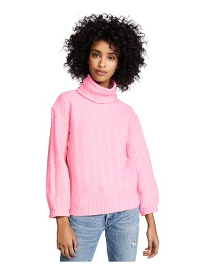 English Factory diagonal twist sweater