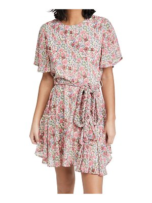 English Factory floral mini dress