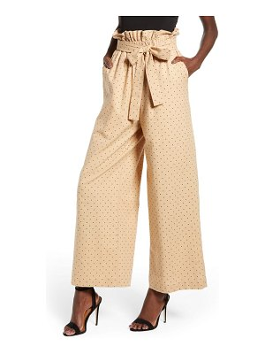 English Factory high waist polka dot pants