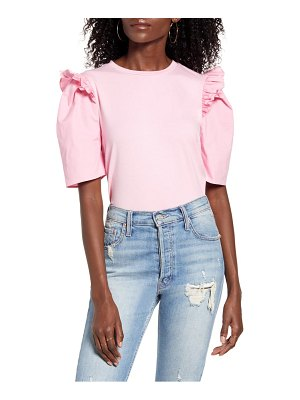 English Factory mini ruffle puff sleeve t-shirt