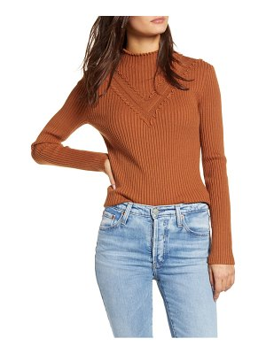 English Factory mini ruffle sweater