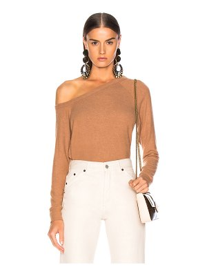 Enza Costa Easy Off Shoulder Long Sleeve