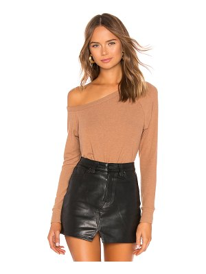 Enza Costa Easy Off The Shoulder Top