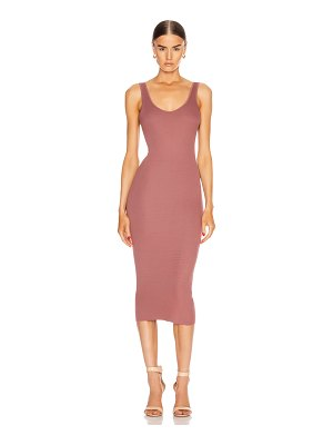 Enza Costa for fwrd rib tank midi dress