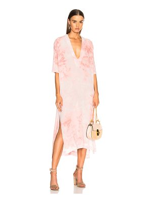 ENZA COSTA For Fwrd V Neck Caftan