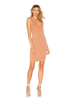 Enza Costa x REVOLVE Silk Rib Tank Mini Dress
