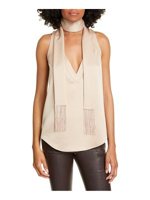 Equipment aylee scarf tank top