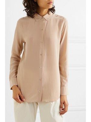 Equipment essential silk crepe de chine shirt