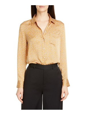 Equipment leema ditsy print shirt