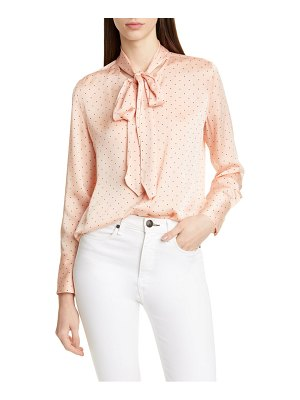 Equipment luis tie neck blouse