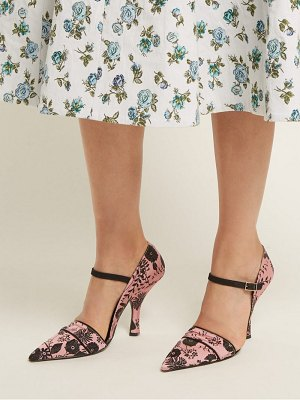 Erdem Mya Mary Jane Pumps