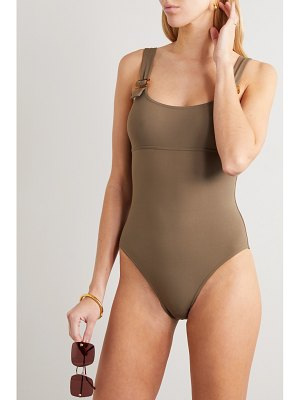 Eres locket embellished swimsuit