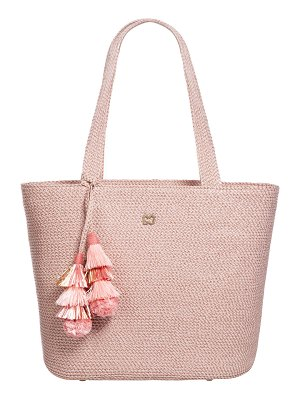 Eric Javits Squishee® Shoulder Tote Bag with Tassels