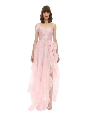 Ermanno Scervino Lvr exclusive strapless silk dress