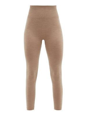 ERNEST LEOTY eleonore high-rise wool-blend thermal leggings