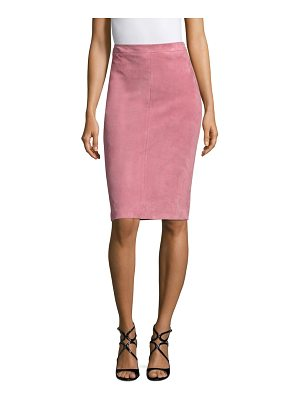 ESCADA laris suede pencil skirt