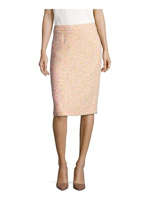 ESCADA ravas funfetti tweed pencil skirt