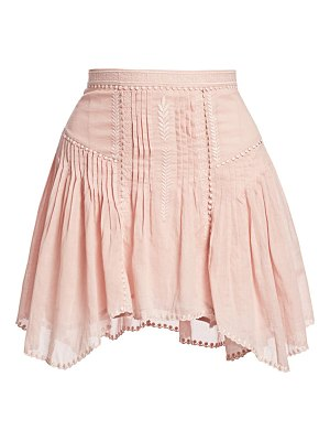 Etoile Isabel Marant akala embroidered handkerchief skirt