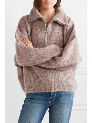 Etoile Isabel Marant cyclan oversized mohair-blend sweater